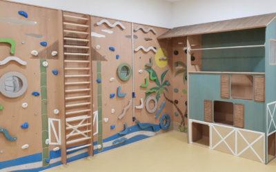 Kletterwand für heilpädagogische – und integrative Kita, Düren