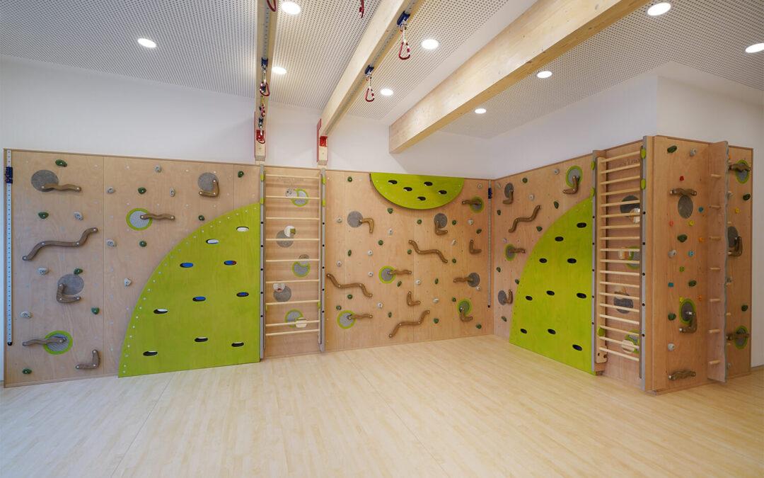 Kletterwand für Sportkita Netphen